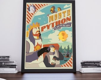 Monty Python and The Holy Grail | Movie Poster | Unframed