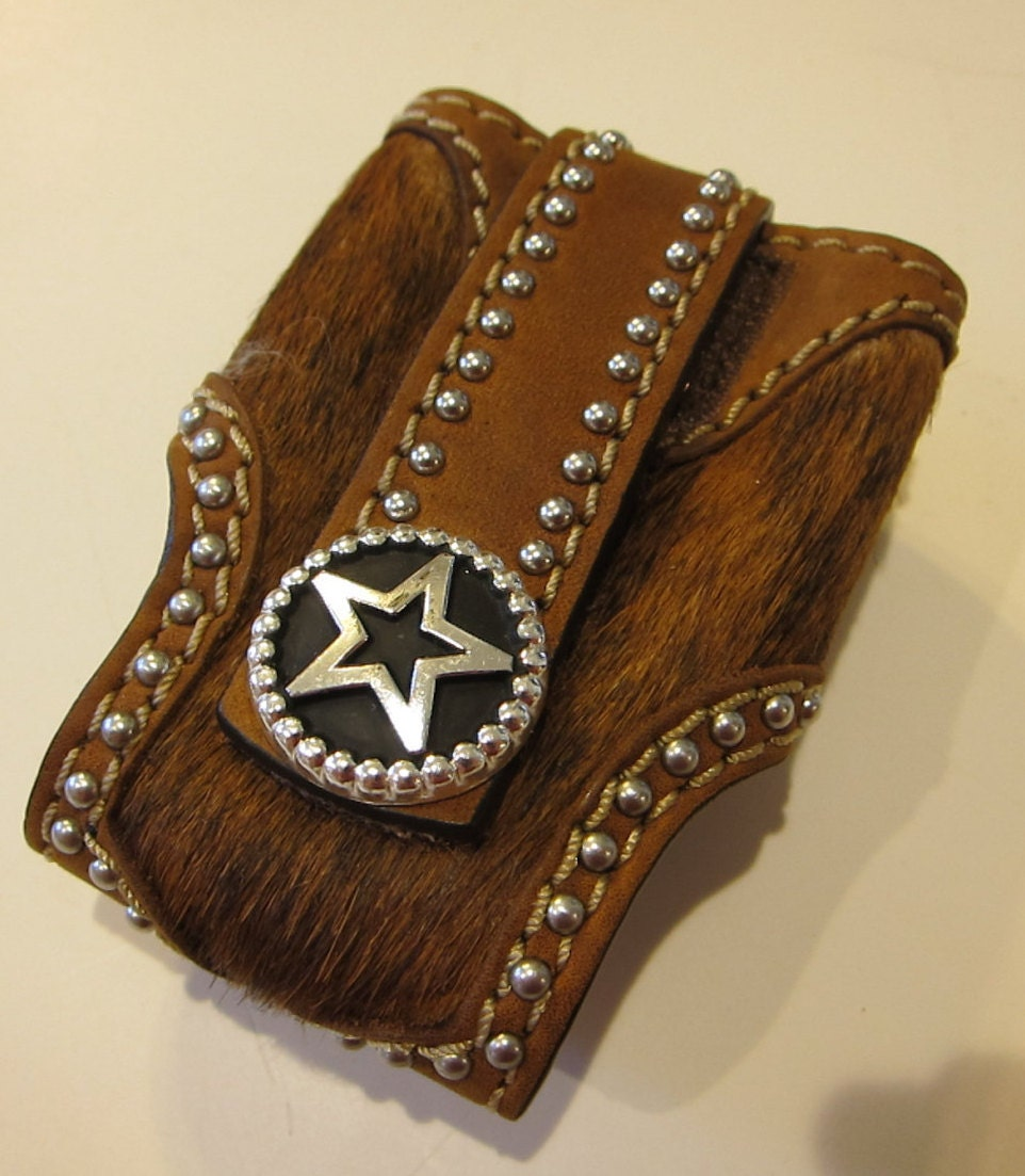 western style cell phone case flip top telephone by