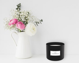 Lime + Sandalwood Candle (385 g)
