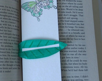 Zenith butterfly bookmark - with linemark