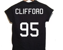 Michael Clifford Jersey Shirt,5 seconds of summer inspired, 5sos