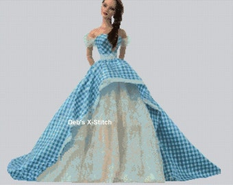 Elegant Lady #98 Cross Stitch Chart