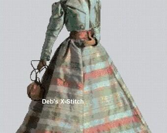 Elegant Lady #122 Cross Stitch Chart