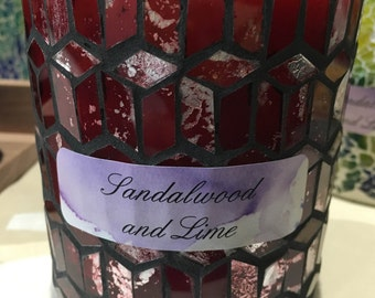 Mosaic Ocean Lily Candle
