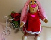 Baby toys-Easter bunny girl-Bunny baby gift-Bunny rabbits-Stuffed bunny toys-Gift toys
