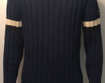 Large Navy Ralph Lauren Polo Jeans Co Sweater