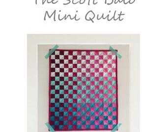 The Scott Baio Mini Quilt Pattern
