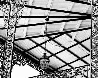 Photography on Canvas, French Quarter, New Orleans Iron Railing