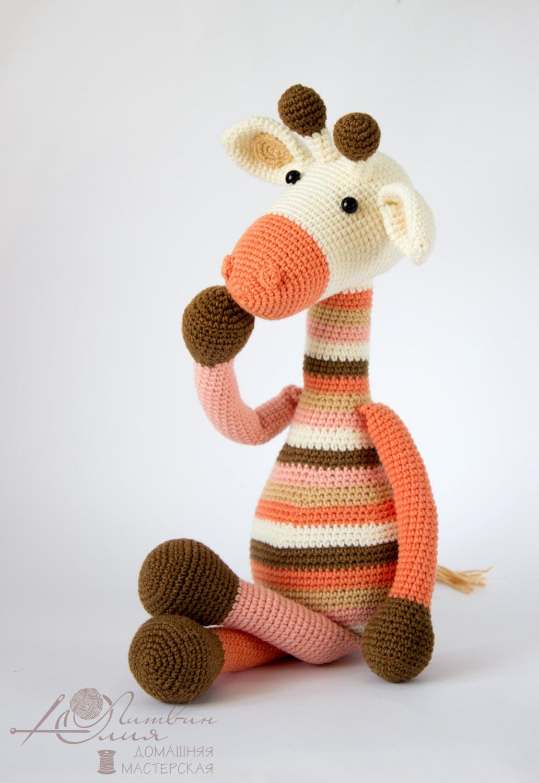 crochet toy amigurumi Knitted toy yarn a toy of threads