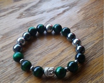 gorgeous handmade semiprecious beaded bracelet