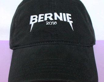 NEW Bernie Sanders YEEZUS 2016 Dad Hat Baseball Hat Democratic Presidential Nominee low profile Baseball Cap BLACK