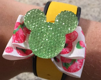Lilly inspired magic band bow