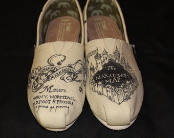Marauder's Map Shoes