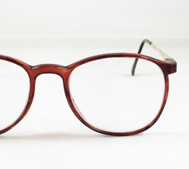 All Gold Glasses Frames : Vintage Eyeglasses Brown & Gold Tone Vintage Eyewear