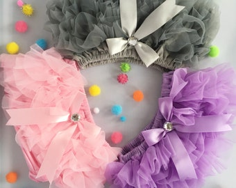 Tutu bloomer/ Baby girl/ 5 Colors/ SweetSparkle