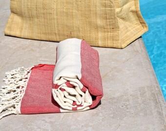 SALE! %30 OFF Turkish Bath Towel // Turkish Peshtemal // Turkish Beach Towel // Turkish Pestemal // Natural Cotton