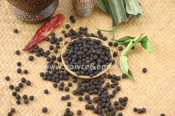 poivre noir de KAMPOT - Kampot black peppercorn