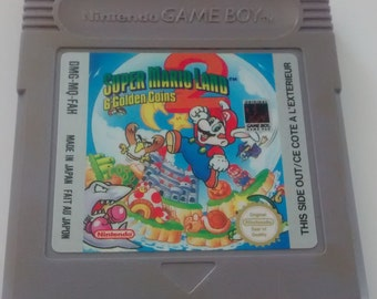 Super mario land 2 | Nintendo Game Boy | New battery & Cleaned | English