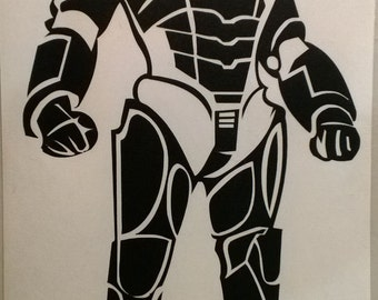 Cyberman decal