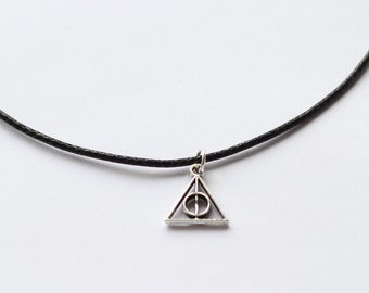 Deathly hallows choker, Harry potter necklace