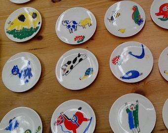 O Castro procelain plates
