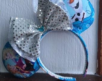 Snowman & Friends Mouse Ears