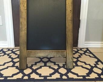 Chalkboard Easel - Gold Easel - Gold Chalkboard Easel