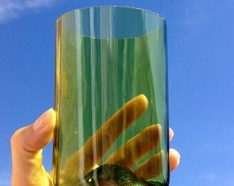 Green Wine Bottle Glass