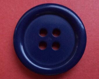 10 buttons dark blue 18mm (705) button blue
