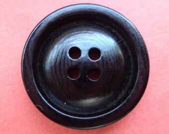 9 buttons black 23mm (6288) button
