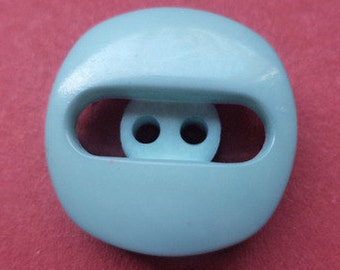 10 buttons 18mm light blue (3930) button