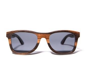 Ofey & Co. Ebony handcrafted wooden sunglasses