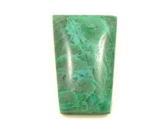 Chrysocolla Malachite In Quartz Cabochon P-059
