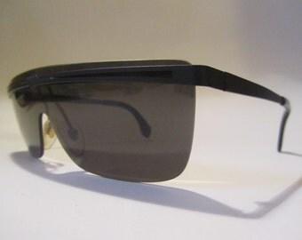 Sun mask sunglasses vintage Cristelle CR 152 03 new new years 90