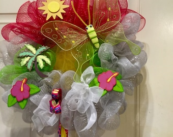 Tropical Island wreath