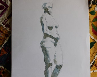 Illustration II female nude