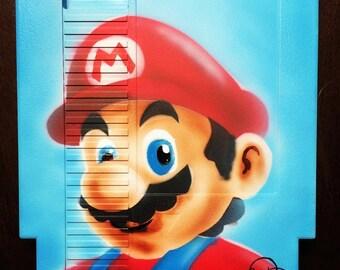 Mario Painted Nintendo Cartridge