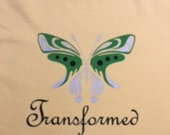Butterfly Transformed Tshirt