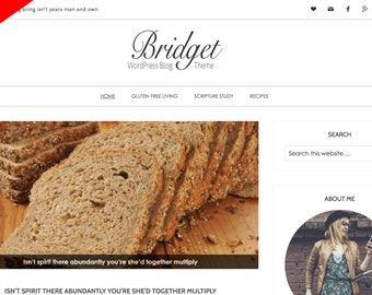 Bridget WordPress Template