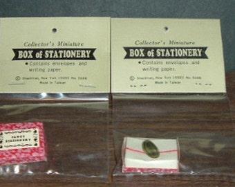 Miniature BOXES (2) STATIONARY (Shackman)