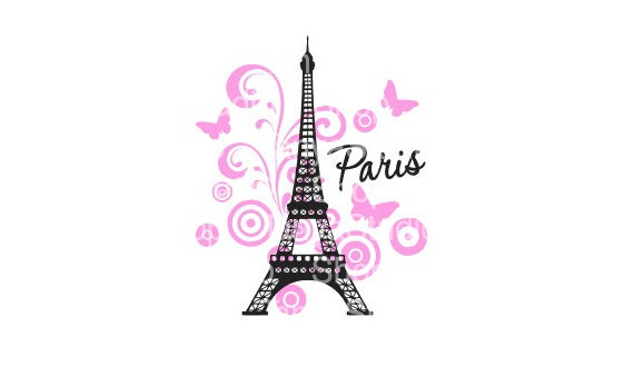 Paris Svg Studio3 Dxf Cutting Files Commercial Use Ok