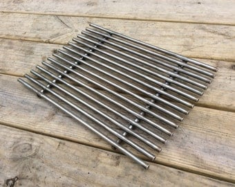 BBQ Grill Grate 3/8 solid stainless steel 12x16