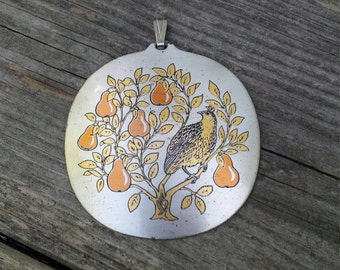 Bird in a Tree Pendant