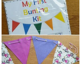 My 1st Bunting Kit ~ Kids Make Your Own Bunting Craft Kit