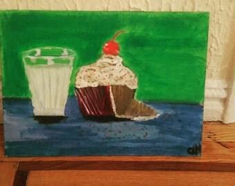 Milk and Cupcake