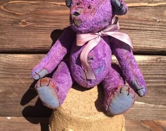 Teddy bear Purple dream