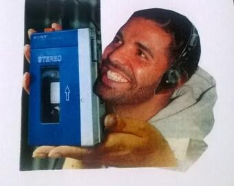Card - Drake and His Walkman