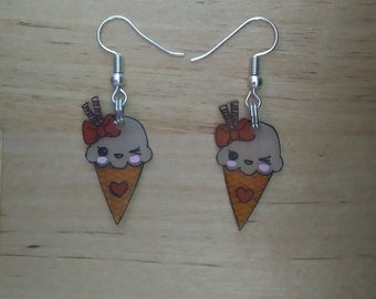 Ice kawaii earrings 2