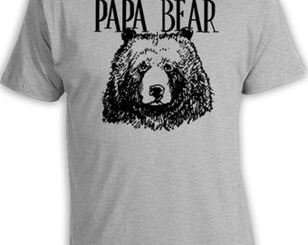 Funny Dad T Shirt Gifts For Dad Gift Ideas Daddy Clothing Father Shirt Daddy Shirt New Dad Gifts For Him  Papa Bear Shirt Mens Tee FAT-06