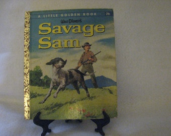 Walt Disney's Savage Sam Book